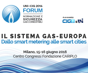 Il sistema gas-Europa: forum Uni-Cig