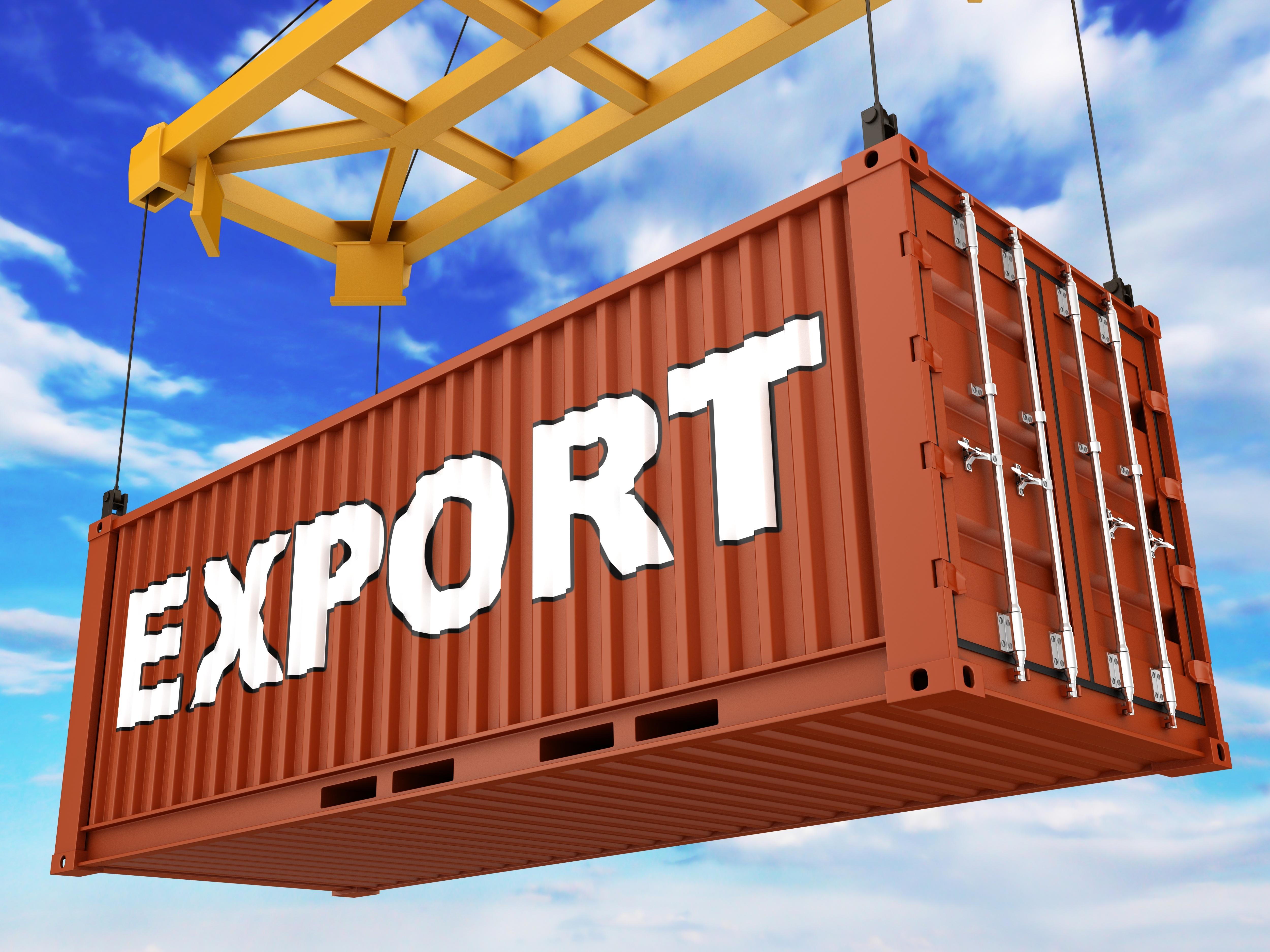 Istat: contenuta crescita export