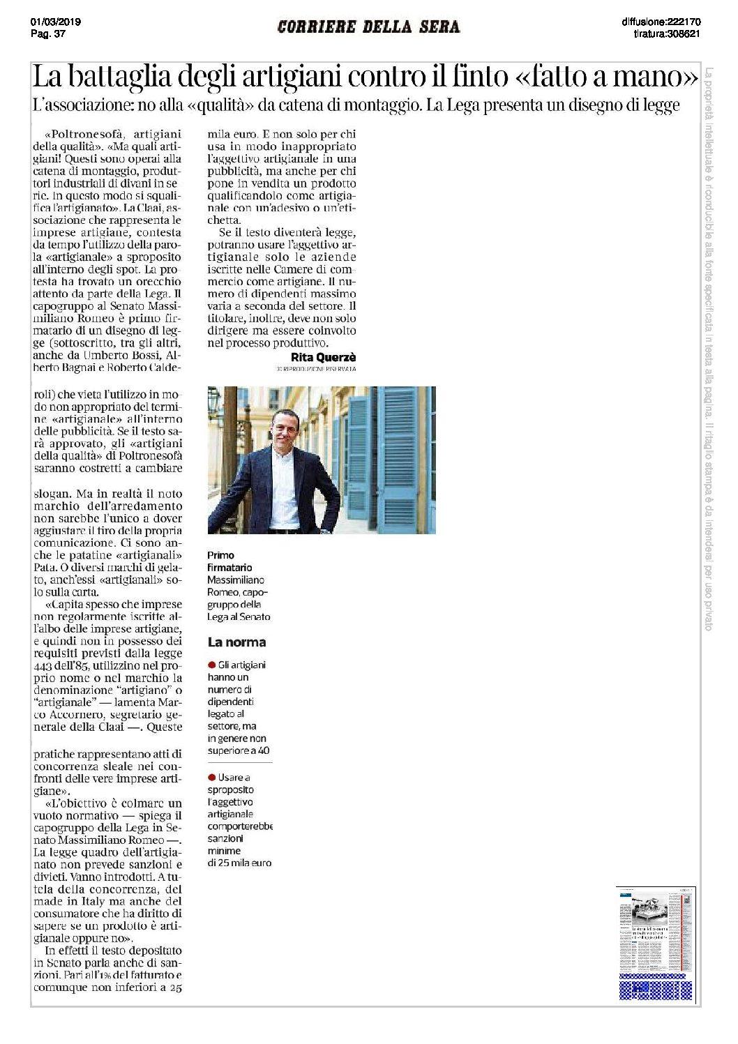 La battaglia degli artigiani contro il finto «fatto a mano» – Corriere della Sera