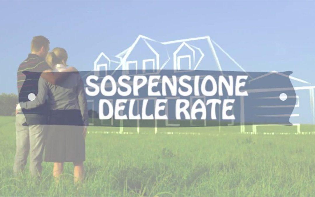 Mutui famiglie e imprese: stop rate per due anni, domande fino a settembre